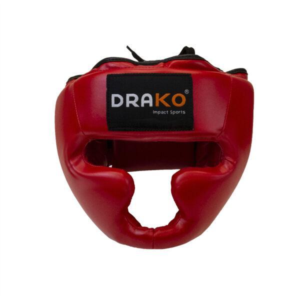 Drako Vinyl Training Boxing Headgear; head protection